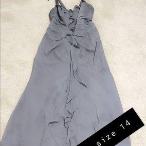 Vera wang brides maid dress